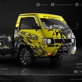 Decal sticker Mitsubishi L300 blacksheep