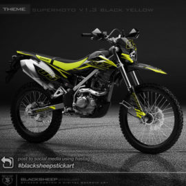 Decal sticker Kawasaki KLX BF supermoto