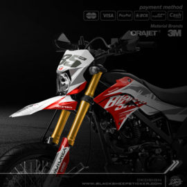 Decal sticker Kawasaki DTRACKER supermoto v1.6