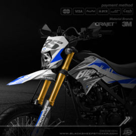 Decal sticker Kawasaki DTRACKER supermoto v1.7