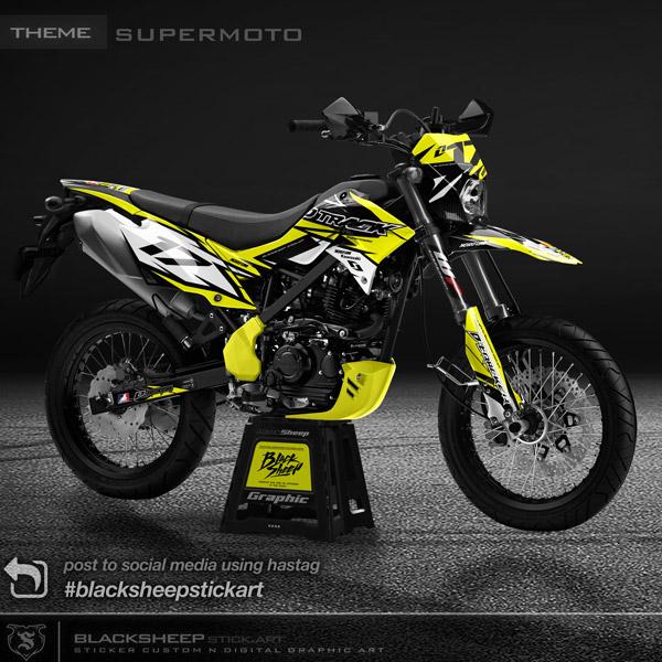 Decal sticker new dtracker supermoto V1