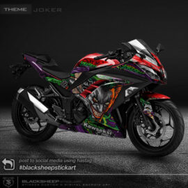 Decal sticker Kawasaki NINJA 250fi Joker