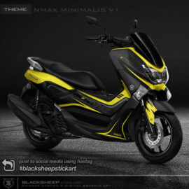 Decal sticker Yamaha NMAX Minimalis V1