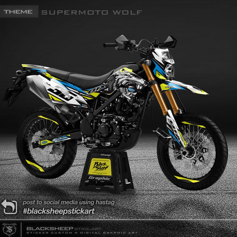 DTRACKER wolf supermoto