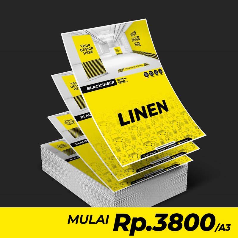 Cetak Laser Linen A3+