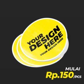 Sticker Printcut Label / Packaging bahan warna putih ini biasa digunakan untuk Stiker logo, Stiker komunitas,stiker brand ...